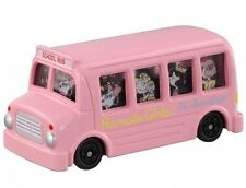 Takara Tomy Dream Tomica Snoopy Peanuts Girls Bus Pink Miniature Car from Japan