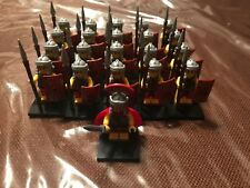 knights lion army roman soldiers compatible with LEGO minifigures