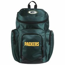 GREEN BAY PACKERS  TRAVELER  BACKPACK WITH UPRIGHT ZIP COMPARTMENTS