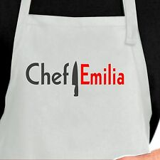 Personalized Chef Apron.  Custom Chef apron. Personalized Apron