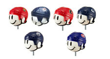 NHL Hockey Set Of 6 Canadian - Team Car Antenna Toppers / Antenna Balls