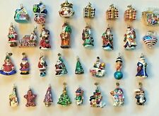 31 Vintage Christopher Radko Little Gems Christmas Ornaments 1999-2002