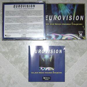 EUROVISION LES PLUS BELLES CHANSONS FRANCAISE COFFRET 3 CD SELECTION DU READER'S