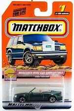 Matchbox #1 Mercedes-Benz CLK Convertible With MB 2000 Logo New On Card