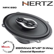 "Hertz Mille Pro MPX690 260 vatios 6""x9"" 4ohm 3-Way Altavoz Coaxial"