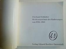Kunst, Eberhard Schlotter, Werksverzeichnis, Werkverzeichnis Eberhard Schlotter