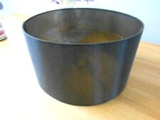 DRUM SHADE FOR STANDARD LAMP TABLE OR CEILING - BLACK