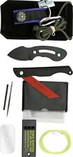 TOPS Knives Rural Urban Kit One Piece Knife Survival Saw & Fishing Tools RUK16