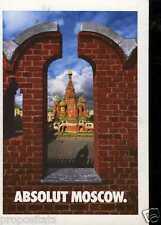 Cartolina Promocard Absolut Vodka Moscow #133