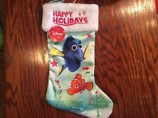 Disney Pixar Finding Dory Nemo Christmas Holiday Stocking