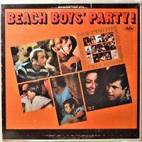 Beach Boys Party Original Mono LP Vinyl w/Intact Fan Photos Beatles Cover Songs