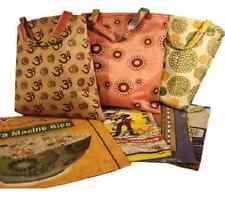 Einkaufstasche recycelte Reistextiltasche Vintage Ricebag umkehrbar upcycling