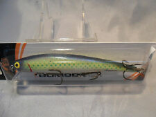 """Bomber Long """"A"""" Chartruese Shinner New In Package 15A Game Fish Bait #3"""