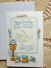 """Happy Birthday Dear Priest""   NEW, 6-1/2H x 4-1/2W @ envelope"