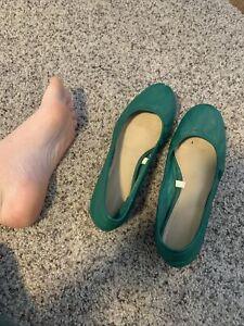 Women's Flats Shoes Worn