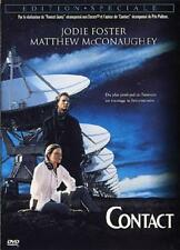 DVD *** CONTACT *** JODIE FOSTER ( neuf sous cello )