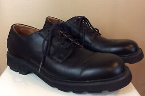Men's Rockport Shoes Black Leather Waterproof Size 9 1/2 Narrow