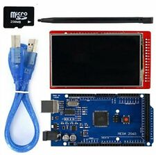 Mega 2560 R3 + 3.2'' TFT LCD Touch Screen + USB Cable + Touch pen + Micro SD
