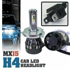 1 set MX15 H4 Car LED Headlight Bulbs Hi/Lo Beam White 6000K ( Double bulbs )
