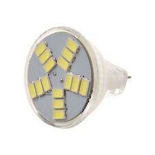 2X(7W MR11 GU4 600lm Ampoule LED Lampe 15 5630 SMD lampe (lumiere blanche) WT