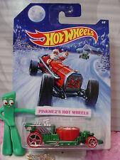 2014 Holiday Hot Rods #6/8 HOT TUB∞Green/Red❊Santa❊25∞Hot Wheels Walmart Excl