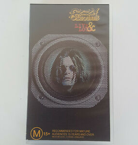 OZZY OSBOURNE LIVE & LOUD VHS Tape Video 1995 Pal Black Sabbath