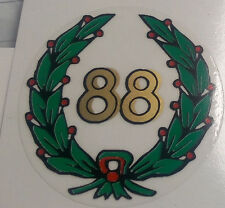 ADESIVO PER MONDIAL 88 SERBATOIO FORCELLE DECAL STICKERS