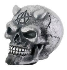 NEW! Skull Skeleton Shift Shifter Knob Chrome Devil Car Auto Resin 8234 Gift