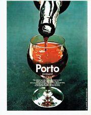 PUBLICITE ADVERTISING  017  1971   le vin de Porto  apéritif