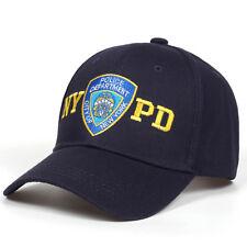 54e07552c0e New Mens Womens NYPD Baseball Hats Navy Blue Police Department Snapbacks  Caps