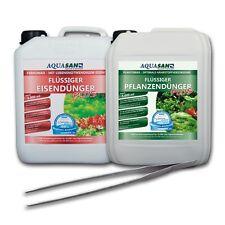 (7,--/ltr) AQUASAN Pflanzenpflege-SET PLUS 5.000 ml + GRATIS Pflanzen-Pinzette
