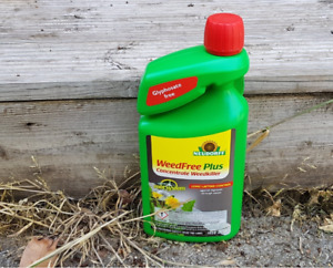 Neudorff Weedkiller 1020ml Concentrate WeedFree Plus Fast Acting Biodegradable