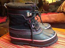 Western Chief Girls (Size 2) Steel Shank Waterproof Thermolite Winter Snow Boots