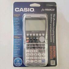 NIB Casio fx-9860GII Graphing Calculator Silver / black