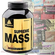 Peak Supreme mass updgrade 3000g weight gainer masa construcción glúcidos + Bonus