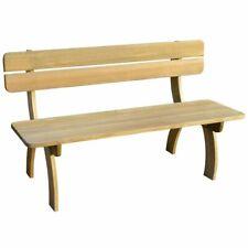 vidaXL Garden Bench Impregnated Pinewood Outdoor Garden Furniture Seat