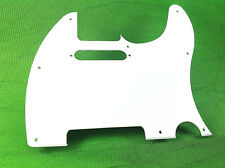 1-PLY TELE TELECASTER PICKGUARD FOR FENDER GUITAR WITH PURE WHITE