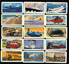 CIGARETTE/TRADE/CARDS. B/Bond (Canada).TRANSPORTATION. (1973). (Full Set of 48).