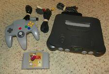 Nintendo 64 / Zelda - Ocarina of Time - Video Game Bundle