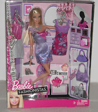 NEW BARBIE FASHIONISTAS BARBIE DOLL + DOWNLOAD ENDLESS CLOSET FASHIONISTAS APP