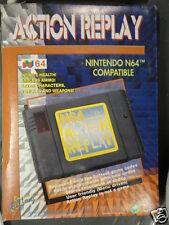 Nintendo N N64 64 EMS PAL NTSC Action Replay Datel Game Wizard Genie Shark