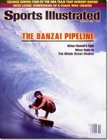 March 8, 1982 Surfing The Banzai Pipeline Sports Illustrated B