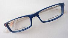 Emporio Armani 9404 Unisex Brillenfassung Kunststoff blau eckig Designer size M