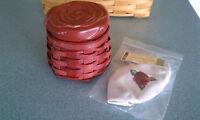 Longaberger 2014 Sweetheart Rosebud Basket, liner, protector, & lid set NEW