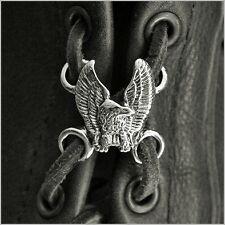 Nuevo De Calidad 2 X alas de águila lado Chaleco ~ Chaleco extensores Biker