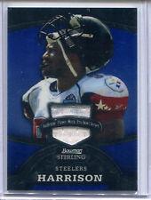 2008 Bowman Sterling James Harrison RC Pro Bowl Jersey / Relic
