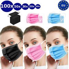 Einwegmaske Atemschutzmaske OP Maske Schutzmaske Mundschutz Atemschutz 3-Lagig