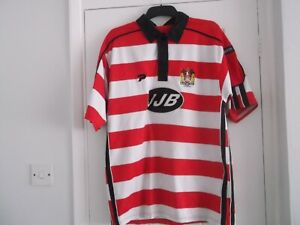 WIGAN WARRIORS HOME RUGBY LEAGUE TOP LARGE SIZE 46 INS PATRICK MAKE