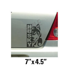 Siberian Husky Tribal Vinyl Decal Sticker Car Truck Window