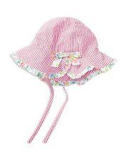 Ralph Lauren Baby Girl Sun Hat Beach Pink Stripe Size 3-9 month NWT